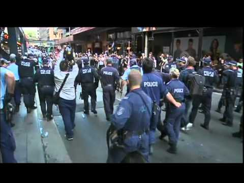 Protests In Sydney Over Anti-islam Film video