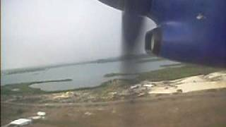 Dash 8-300 from Liat Takeoff From V.C Bird Int