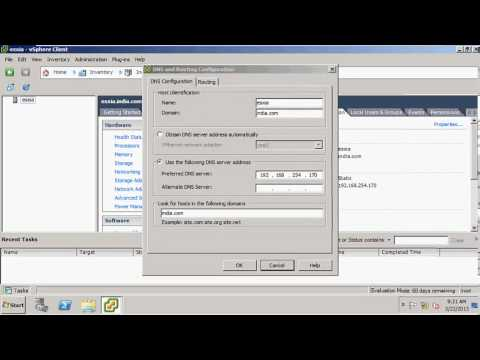 Free Learn Overview of vSphere client part 2 in Hindi by INT institute