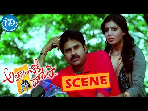 Atharintiki Daredi Movie Scene – Pawan Kalyan Shopping Mall Fight – Samantha | Pranitha | Trivikram Photo Image Pic
