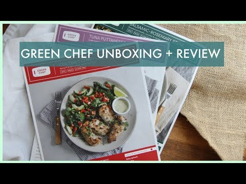 Green Chef Unboxing Video and Keto Meal Plan Review