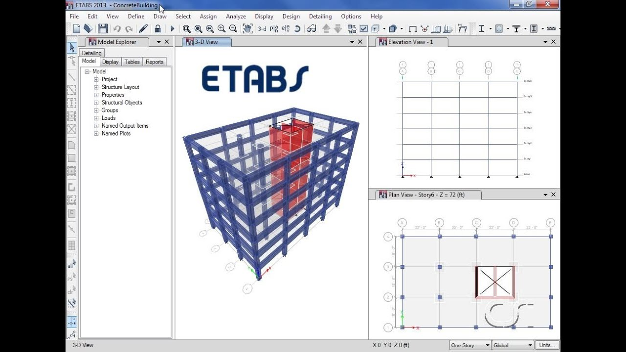 ETABS Video Tutorials | Integrated Analysis, Design And Drafting ...
