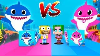 Lucky Blocks de Baby Shark en Minecraft
