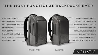 Meet the NOMATIC Backpack &  Travel Pack