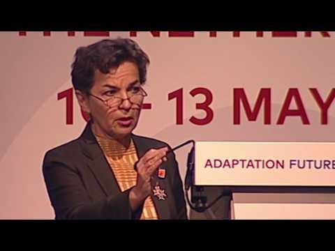 ADAPTATION FUTURES 2016 - Plenary Tuesday - Presentation Christiana Figueres