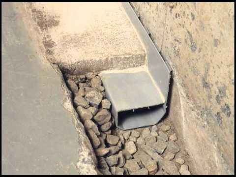 Waterguard imperm abilisation de sous sols youtube - Mur interieur humide que faire ...