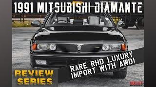 RARE 1991 Mitsubishi Diamante RHD [4k] | REVIEW SERIES