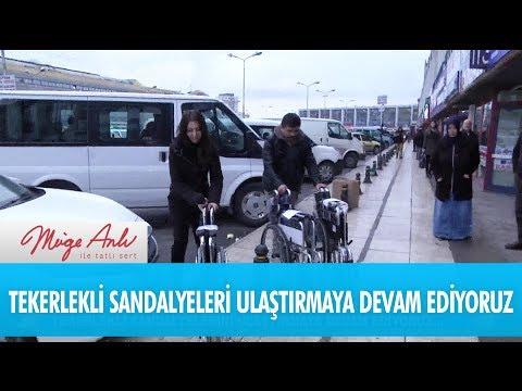 Tekerlekli sandalyeleri ulaştırmaya devam ediyoruz - Müge Anlı İle Tatlı Sert 30 Kasım 2017