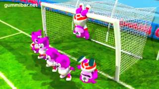 Gummibär  Go For The Goal  World Cup Soccer Song English Funny Gummy Bear USA United States