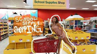 SCHOOL SUPPLY SHOPPING VLOG 2019