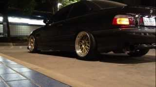 "BMW E36 2JZ GTE HKS Hi-Power 3"" Exhaust Sound"