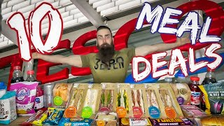 THE 10 TESCO MEAL DEAL CHALLENGE | BeardMeatsFood