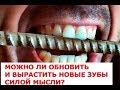 Можно ли обновить и вырастить новые зубы силой мысли Пошаговая инструкция трансформация сознания по mp3