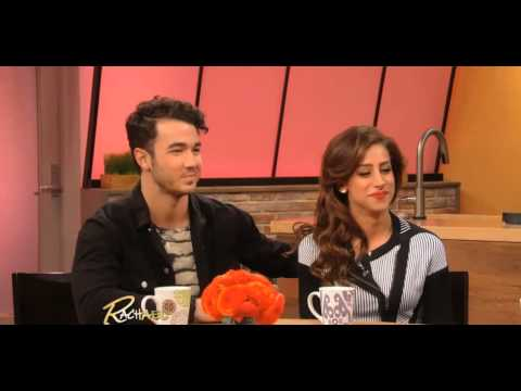 Kevin and Dani Jonas on Rachael Ray Show [2/5/2013]