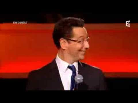 Laurent GERRA imite F  Hollande dans  Le Grand Show    21 09