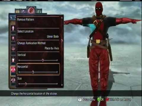 Soul Calibur V Custom Characters - Deadpool