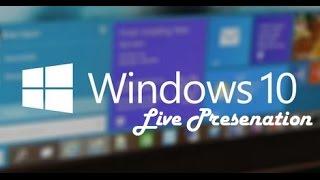 Microsoft Windows 10 Event January 2015 Presentation HD (Full)