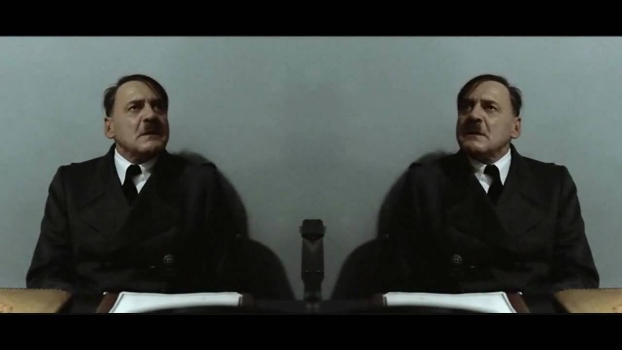 Hitler is informed that there are two Hitlers