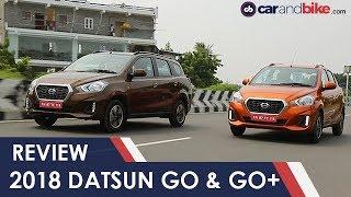 2018 Datsun GO & GO+ Facelift Review | NDTV carandbike