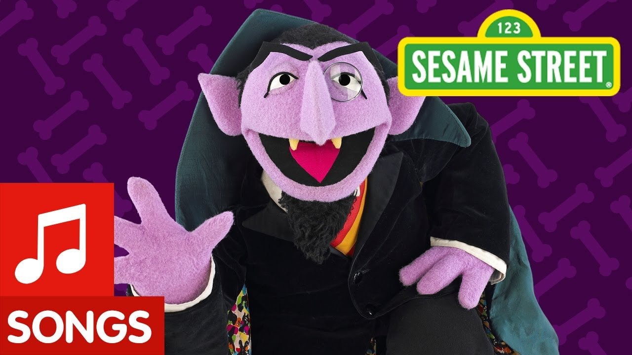 Sesame Street Count 5 Sesame Street The Count's