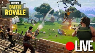 Fortnite Battle Royale 50v50 en fratsen.. (GameMeneer Livestream 08-12-2017)