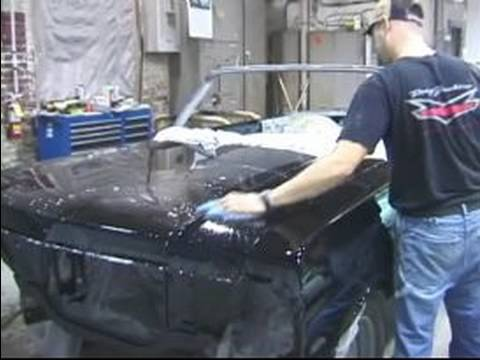 How to Color Sand a Car for Painting