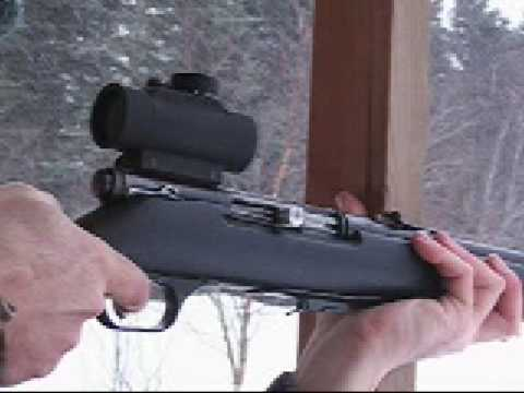 Stevens Model 85 .22 Semi-Auto Rifle