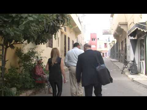 Morocco Meknes 2013 ביקור בעיר וחיפוש הבית של המשפחה