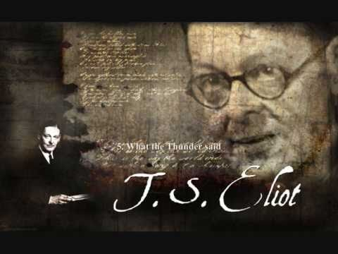poetic devices in the wasteland ts elliot 2018-8-17  ts eliot: poems essays are academic essays for citation these papers were written primarily by students and provide critical analysis of poems by ts eliot.