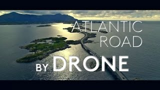 Atlantic Road by drone! (World's most beautiful road?)
