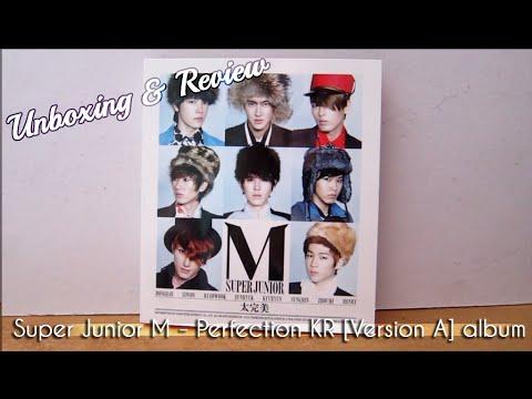 Super Junior M - Perfection Version A CD Unboxing & Review