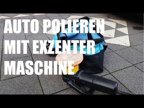 Kratzer auto polieren