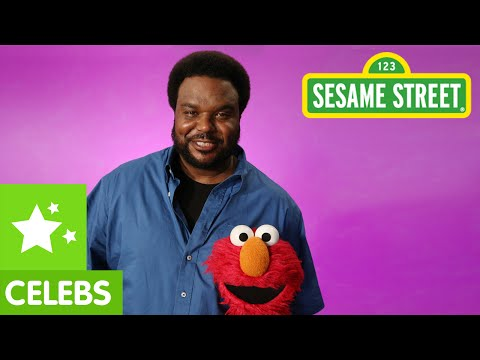 Sesame Street: Elmo And Craig Robinson See A Pattern video