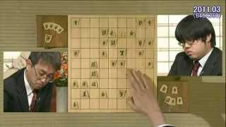 「羽生×糸谷」 決勝 2011年 (森内) ○