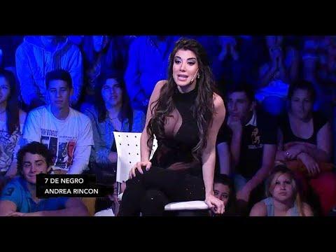 Andrea Rincón confesó que estuvo con Messi