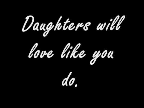 John Mayer - Daughters Lyrics