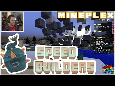 MINEPLEX SPEED BUILDERS | New INTENSE Mineplex Mini-Game
