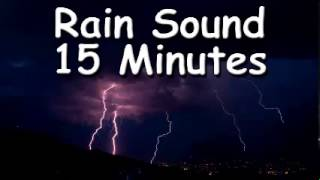 TAKE A NAP WITH Rain Sound 15 minutes of water sound relax meditation zen music for sleep