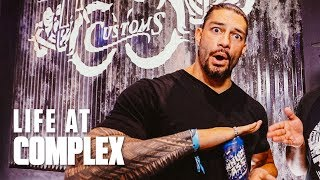 Roman Reigns Talks Return to WWE Ring and 'Hobbs & Shaw' at ComplexCon Chicago! | #LIFEATCOMPLEX