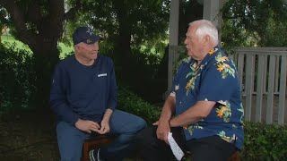 Dale Hansen and Jerry Jones talk at Cowboys training camp
