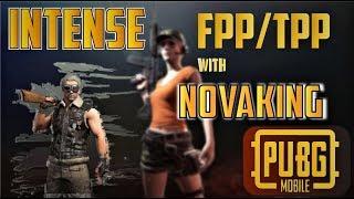 PUBG MOBILE LIVE-INTENSE FPP/TPP WITH NOVA/ICONIC/EXPERIMENT