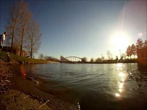 Lachine Canal SUP session