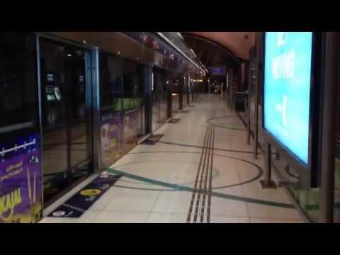 Dubai Metro Station 2013