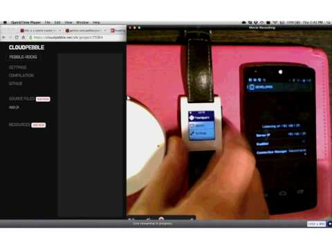 The Glanceable Web - Extending Web Apps To Smart Watches