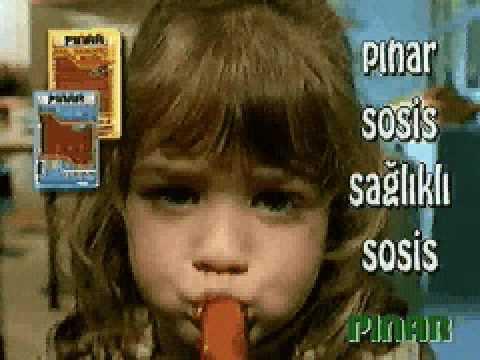 PINAR SOSİS REKLAMI 1996 - Coelus Production Arşivinden