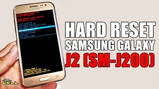 Hard Reset no Samsung Galaxy J2 (SM-J200