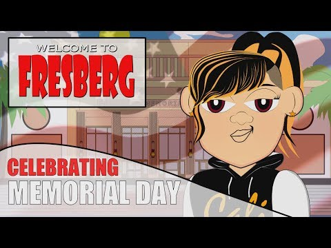 Celebrating Memorial/Decoration Day with Kids Educational Video for Students/CN/Cartoons Online