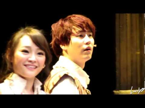 130406 8PM 삼총사 규현 커튼콜 ('The Three Musketeers' curtain-call - KYUHYUN)