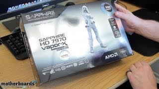 Sapphire HD 7970 Vapor-X GHz Edition 3GB Video Card Unboxing and First Look