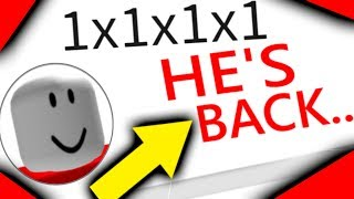 THE MOST FAMOUS PLAYER IS BACK ON ROBLOX